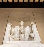 Национальный монумент - мемориал Линкольна - DC Вашингтона Стоковое Фото