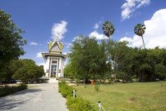 Национальный монумент поля убийства, Камбоджа стоковые фотографии rf