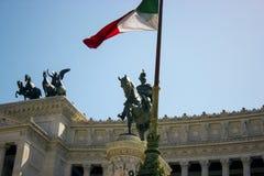 Национальный монумент Рима стоковое фото rf