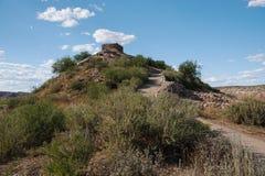 Национальный монумент Tuzigoot Стоковое Изображение RF