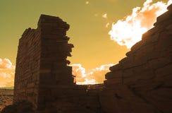 Национальный монумент Wupatki Стоковые Фотографии RF