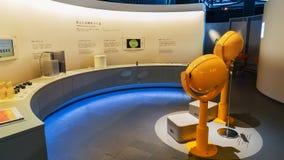 Национальный музей вытекая вытекая науки и нововведения в Odaiba, токио Стоковые Фото