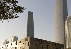 Национальный музей в кантоне, Китай Гуандуна Стоковые Фото