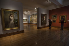 Национальный музей изобразительных искусств стоковое изображение rf