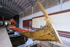 Национальный музей королевского barges внутри Бангкок Стоковое Изображение