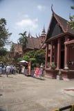 Национальный; Музей Пномпень Камбоджа Стоковая Фотография