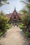 Национальный; Музей Пномпень Камбоджа Стоковые Фото