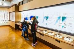 Национальный музей природы и науки Стоковая Фотография