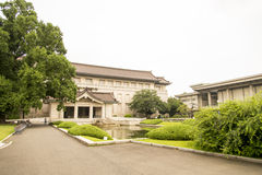 Национальный музей токио в Японии Стоковая Фотография