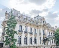 Национальный музей George Enescu стоковое изображение rf