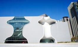 Национальный оперный театр Taichung столичный, театр Taichung, конструированный архитектором Стоковая Фотография