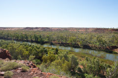 Национальный парк Австралия Millstream Чичестера Стоковое фото RF