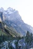 Национальный парк Вайоминг Teton горного пика грандиозный Стоковая Фотография RF