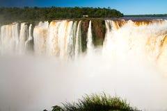 Национальный парк водопадов Iguazu Стоковое Изображение RF