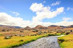 Национальный парк вулкана Котопакси Стоковое Изображение RF