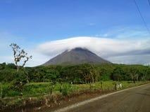 Национальный парк вулкана Arenal Стоковая Фотография RF