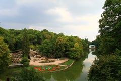 Национальный парк в Украине Стоковые Фото