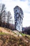 Национальный парк в Ojcow  стоковое фото rf