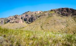 национальный парк гор guadalupe стоковое изображение rf