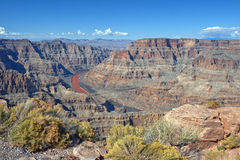 Национальный парк грандиозного каньона, Аризона, Соединенные Штаты Стоковые Изображения RF