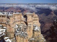 Национальный парк гранд-каньона, AZ, southrim Стоковые Изображения