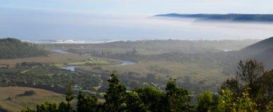 Национальный парк глуши, трасса сада, Южная Африка Стоковые Изображения RF