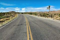 Национальный парк дерева Иешуа, пустыня Мохаве, Калифорния Стоковое Фото