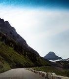 Национальный парк ледника в Монтане, США Стоковая Фотография RF