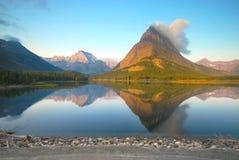Национальный парк ледника в Монтане Стоковая Фотография RF