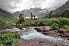 Национальный парк ледника в Монтане Стоковое Изображение