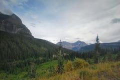 Национальный парк ледника в Монтане Стоковые Изображения RF