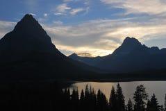 Национальный парк ледника в Монтане Стоковое фото RF
