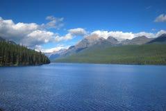 Национальный парк ледника в Монтане Стоковые Фото