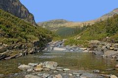 Национальный парк ледника заводи Siyeh Стоковое Изображение RF