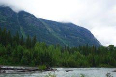 Национальный парк ледника - Монтана Стоковые Фотографии RF