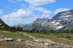 Национальный парк ледника Стоковые Изображения RF