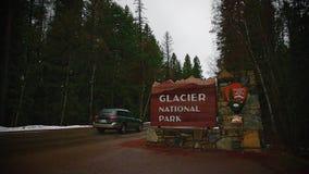 Национальный парк ледника видеоматериал