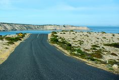 Национальный парк залива гроба, полуостров Eyre Стоковое Фото