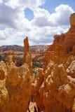 Национальный парк и небо каньона Bryce Стоковая Фотография RF