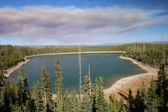 Национальный парк Йеллоустона озера утк стоковое фото