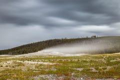 Национальный парк Йеллоустона, Юта, США Стоковая Фотография