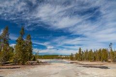Национальный парк Йеллоустона Стоковая Фотография RF
