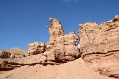 Национальный парк каньона в Азии Стоковое фото RF