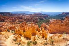 Национальный парк каньона Bryce в Юте, США Стоковое Изображение