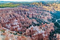 Национальный парк каньона Bryce, Юта, США Стоковые Фотографии RF