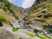 Национальный парк Кальдеры de Taburiente на Ла Palma Стоковое Изображение RF