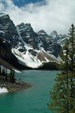 Национальный парк озера морен, Banff, Альберта, Канада Стоковое Фото