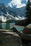 Национальный парк озера Morraine, Banff, Альберта, Канада. стоковое изображение