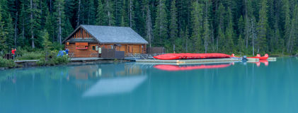 Национальный парк дома каное и Banff каное Стоковые Изображения