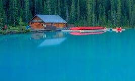 Национальный парк дома каное и Banff каное Стоковая Фотография
